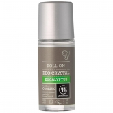Desodorante roll-on cristal eucalipto Urtekram, 50 ml