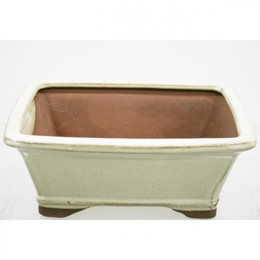Vaso Java rectangular creme