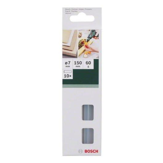 Set de 10 barras de cola termofusible transparente Bosch 7 x 150 mm