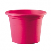 Pot de fleurs injection fuchsia