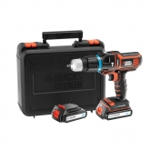 Multiherramienta Black & Decker Multievo 18 V  1.5 Ah Litio MT188KB