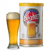 Kit de ingredientes Draught - Cerveja de barril Coopers