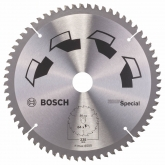 Disco multimaterial Bosch para serra circular 235 x 30 mm 64 dentes
