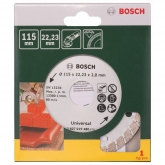 Disco diamantato universale Bosch Turbo Promoline 115 mm