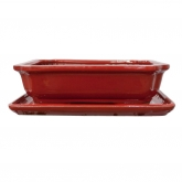 Tiesto Basic rectangular rojo + plato