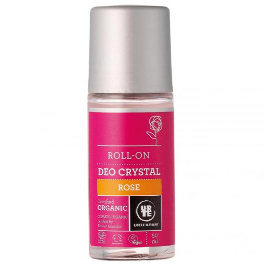 Desodorante Roll-On Rosas Urtekram, 50ml