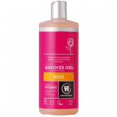 Gel de bain à la rose Urtekram 500 ml