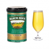 "Kit de ingredientes ""Black Rock"" cerveza tipo Lager"