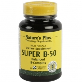 Super B-50 Nature's Plus, 60 gélules