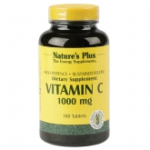 Vitamina C 1000 mg Nature's Plus, 180 comprimidos