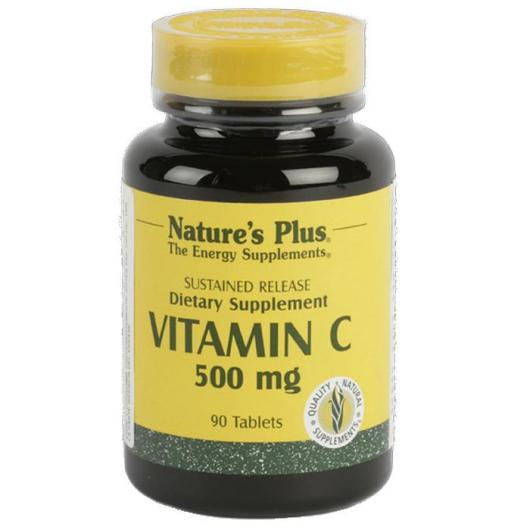 Vitamina C 500 mg Nature's Plus, 90 compresse