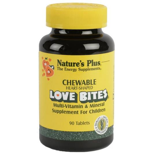 Love Bites Nature's Plus, 90 comprimidos