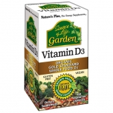 Vitamina D3 Garden Nature's Plus, 60 compresse