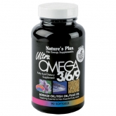 Ultra Omega 3/6/9 Nature's Plus, 90 gélules