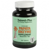 Papaya enzyme Nature's Plus, 360 comprimidos