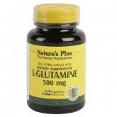 L-glutamine 500 mg Nature's Plus, 60 gélules