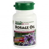 Aceite de Borraja (Borage Oil) Nature's Plus, 30 perlas