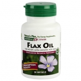 Aceite de Lino (Flax Oil) Nature's Plus, 30 perlas