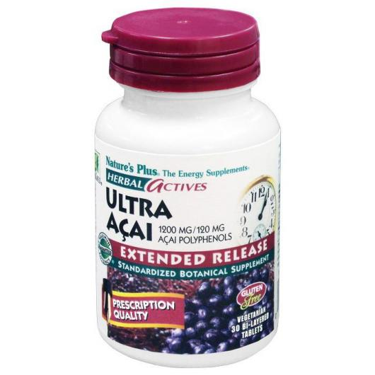 Ultra Açai Nature's Plus, 30 comprimidos