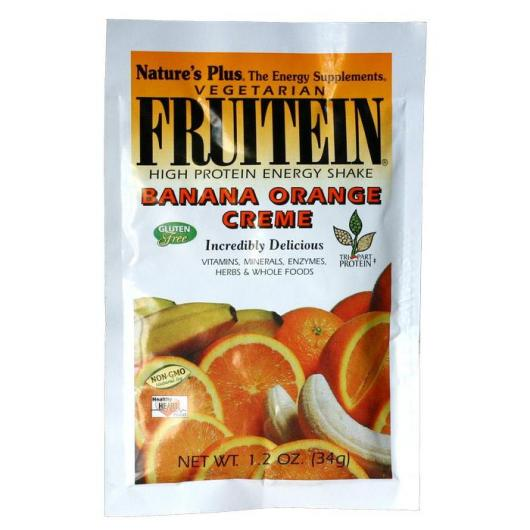 Fruitein Sobre Banana&Arancia Nature's Plus, 34 g