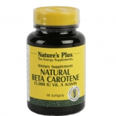 Natural Beta Carotene Nature's Plus, 90 perlas