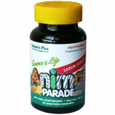 Animal Parade multivitamine à la cerise Nature's Plus, 60 comprimés