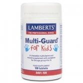 Multi-Guard® for Kids Lamberts, 100 tabletas masticables