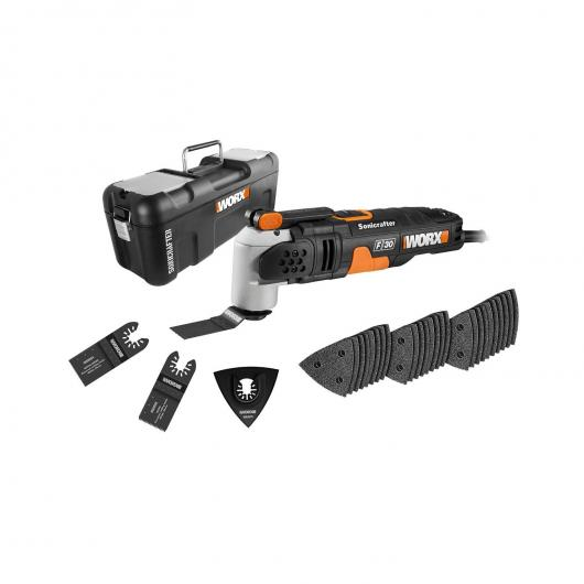 Outil multifonction Worx WX680 Sonicrafter Hyperlock 350 W
