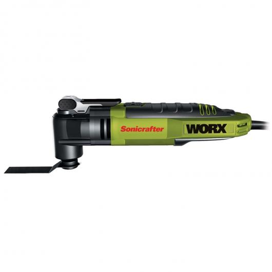 Outil multifonction professionnel Worx WU676 Sonicrafter Hyperlock 300 W