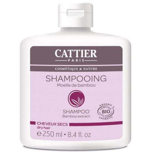 Champú para cabellos secos Cattier, 250ml.