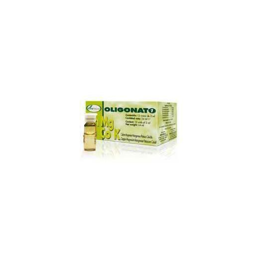 Oligonato 1 Cu-Mg-Mn-K-Co Soria Natural, 12 viales