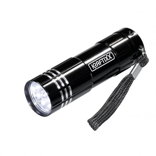 Torcia tascabile 9 LED Kraftixx