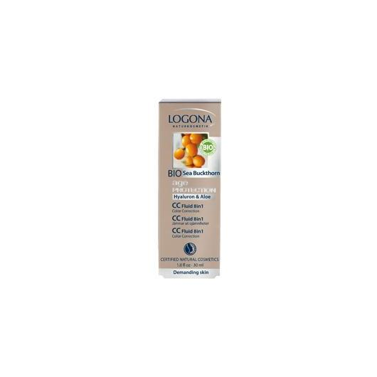 CC Fluido 8 in 1 age protection Logona, 30 ml