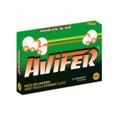 AVIFER 30 COMP 525MG
