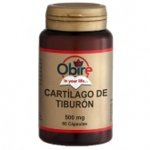 Cartillagine di Squalo 500 mg Obire, 60 capsule