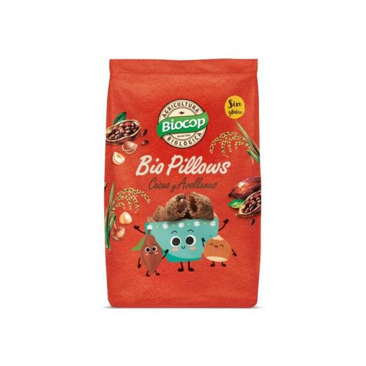 Biopillows Chocolate y Avellanas Biocop, 375 g