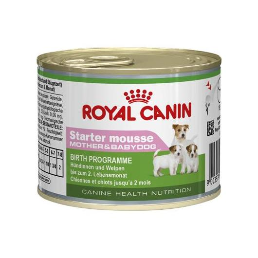 Royal Canin Wet Starter Mousse Mother&Babydog 12 x 195 g