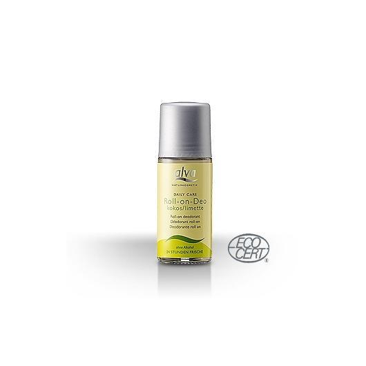 Desodorante Roll On de coco y limón Alva, 50ml