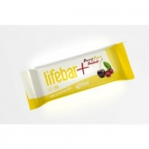 Barrita Lifebar Plus Bio Frutos Rojos y Maca Lifefood, 47 g