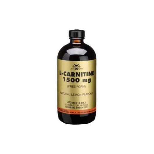 L-Carnitina Liquida 1500 mg Solgar, 473 ml
