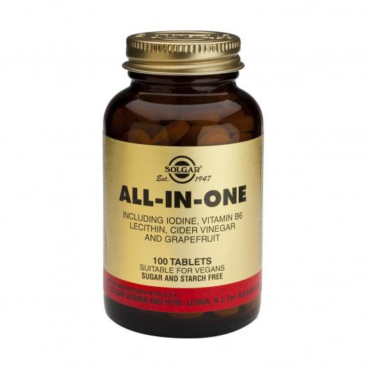 All In One Solgar, 100 compresse