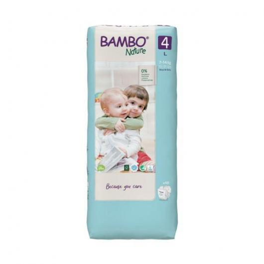 Pañal Bambo maxi 7-18Kg, 60ud