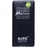 Chocolate Mascao 70% Alternativa,. 80 g