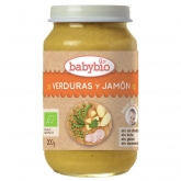 Petit pot Menu tradition au jambon Babybio, 200 g