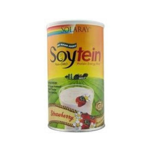 Soytein Fragola Solaray, 400 g