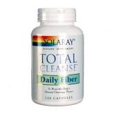 Total Cleanse Fiber Solaray, 120 capsule