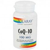 Coenzima Q10 Solaray 100 mg
