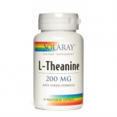 Teanina 200 mg Solaray, 45 capsule