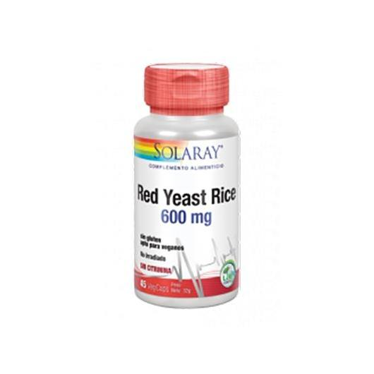 Red Yeast Rice Solaray, 45 capsule