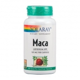 Maca 525 mg Solaray, 100 capsules